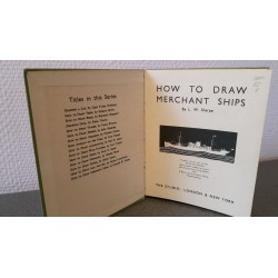 How to draw Merchant Ships