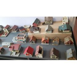Spoor H0 scenery Huisjes Lot I