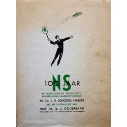 100 Jaar NS De Nederlandsche Spoorwegen in Caricatuur 1839-1939 (100 jaar NS)