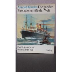 Die grossen Passagierschiffe der Welt Band III: 1924-1935