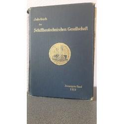 Jahrbuch der Schiffbautechnischen Gesellschaft - 20e Band 1919