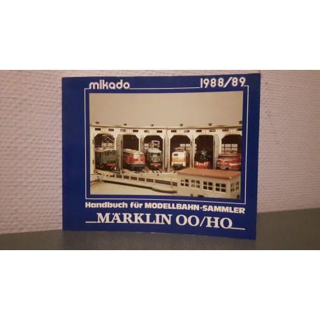 Mikado - Märklin handbuch für modelbahn sammler 00/H0