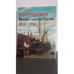Amsterdam Beeld van een haven 1870/1940