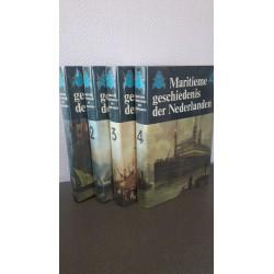 Maritieme geschiedenis der Nederlanden - Deel 1 t/m 4