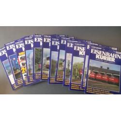 Eisenbahn Kurier - Ek-Verlag Complete jaartal 2003 12 nummers