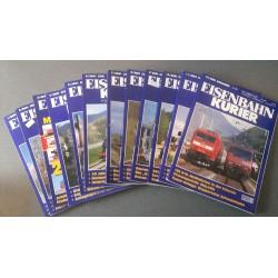 Eisenbahn Kurier - Ek-Verlag Complete jaartal 2001 12 nummers