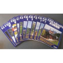 Eisenbahn Kurier - Ek-Verlag Complete jaartal 2000 12 nummers
