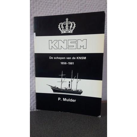 De schepen van de KNSM 1856-1981