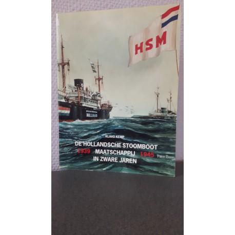 De Hollandsche stoomboot maatschappij in zware jaren 1939-1945