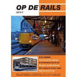 Op de rails 2014 Compleet jaargang