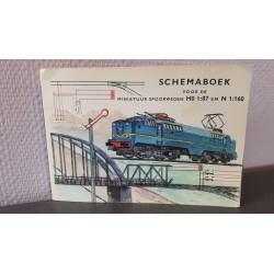 Schemaboek voor de miniatuur spoorwegen H0 1:87 en N 1:160