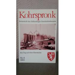 Kohrspronk - Zeitschrift der Differdinger Geschichtsfreunde - Ein Tag auf einer Eisenhütte