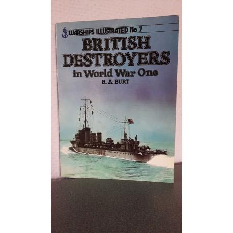 British destroyers in World War One