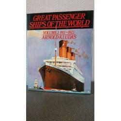 Great Passenger ships of the World - Volume 2 1913 - 1923