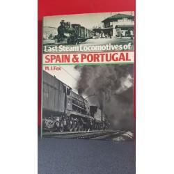 Last steam locomotives of Spain & Portugal
