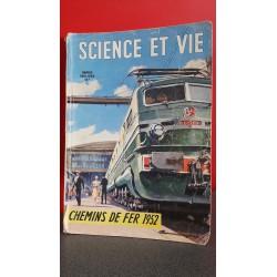 Science et Vie - Chemins de fer 1952