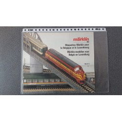 Märklin folders - flyers - informatie Märklin-modellen voor België en Luxemburg 1986/87 B
