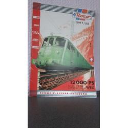 Roco 0-H0-Hoe catalogus 1997/98 Duits/Franstalig 24 Bladzijden