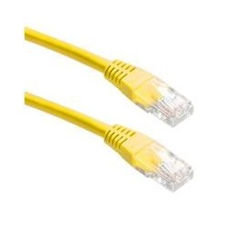 UTP CAT6 Network Cable Yellow, 0,5m