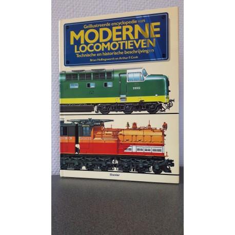 Geïllustreerde encyclopedie van Moderne Locomotieven Technische en Historische beschrijvingen