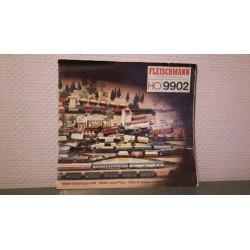 Fleischmann - Baanplan - Gleisanlageheft 9902