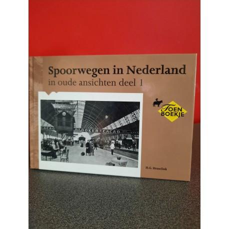 Spoorwegen in Nederland in oude ansichten - Deel 1