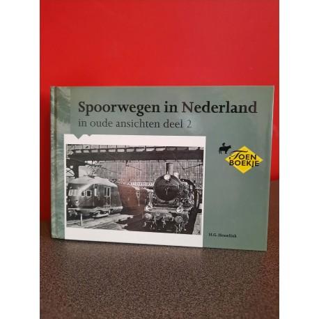 Spoorwegen in Nederland in oude ansichten - Deel 2