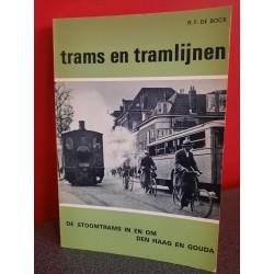 Trams en tramlijnen - De stoomtrams in en om Den Haag en Gouda
