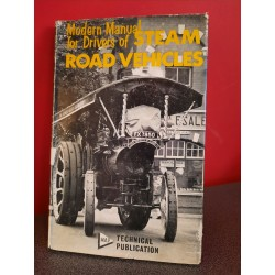Modern Manual for drivers of Steam road vehicles