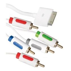 ICIDU AV Component Cable 2m White