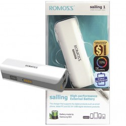 Romoss sailing 1 Power Bank 2600mAh