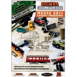 Brekina Brochure - folder Messe 2011