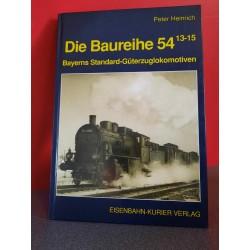 Die Baureihe 54 13-15 Bayerns Standard-Güterzuglokomotiven