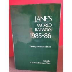 Jane's World Railways 1985-86
