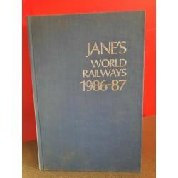 Jane's World Railways 1986-87