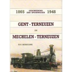 Geschiedenis der Spoorwegen Gent-Terneuzen en Mechelen-Terneuzen 1865-1948