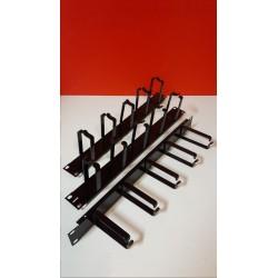 """Kabelgeleider voor 19"""" rack patchkast"""